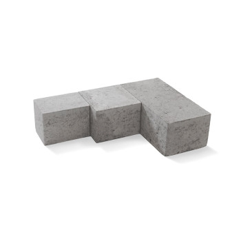 Scala block, naturgrå