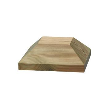 Stolphatt i trä, fasad 120x120 mm