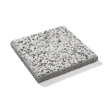 Frilagd platta, Vitsvart marmor